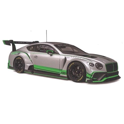 0155669aa TopSpeed Bentley Continental GT - 2018 GT3 Presentation Car 1:18