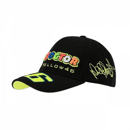 Rossi 2018 Classic The Doctor Cap in black 99e3b18d63a