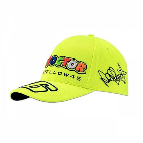 Rossi 2018 Classic The Doctor Cap in yellow (VAL1501) 83a7e6e29d6