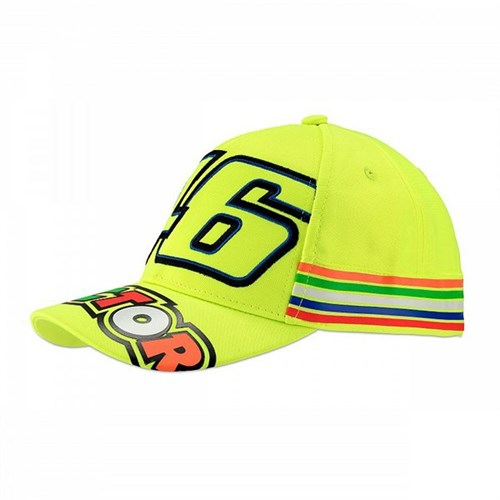 Rossi 2018 kids The Doctor Cap in yellow (VAL1508) af194ad72095