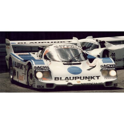 AUTOart Porsche 962C - 3rd 1986 Nurburgring Supercup - #7 K. Ludwig 1:18