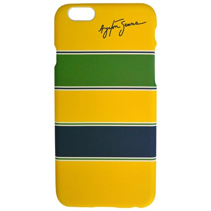 Ayrton Senna Helmet iPhone cover 6