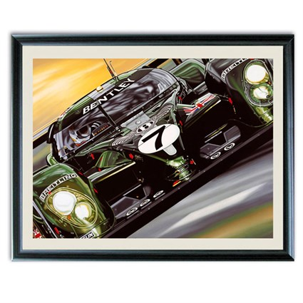 Mr Le Mans and The Bentley Boys print