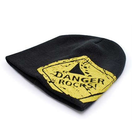 Danger Rocks Large Logo beanie