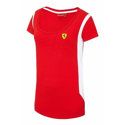 Ferrari Race ladies T-shirt in red