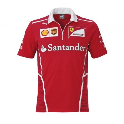 Ferrari 2017 Team Polo Red