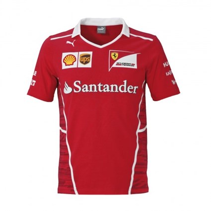 Ferrari 2017 Team T-Shirt Red
