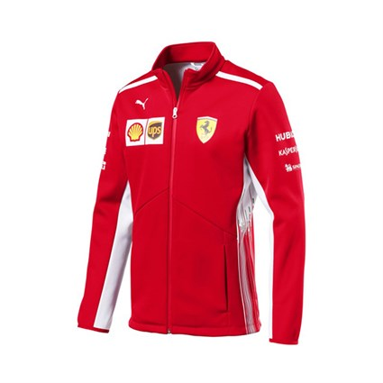 Scuderia Ferrari 2018 Soft Shell Jacket