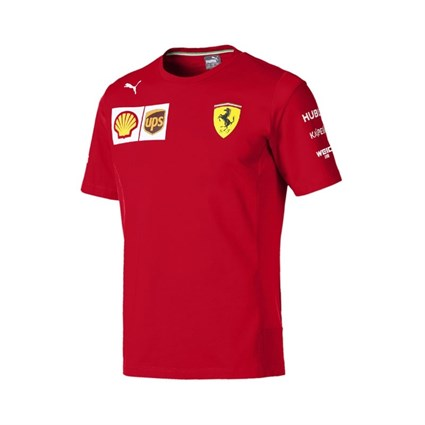 Scuderia Ferrari 2019 Team T-shirt in red