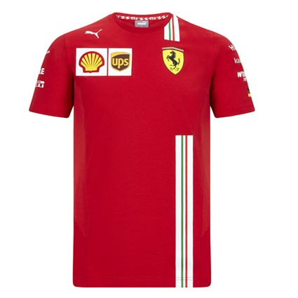 Scuderia Ferrari 2020 Team T-shirt in red