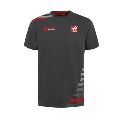 Haas F1 2018 Team T-Shirt Grey