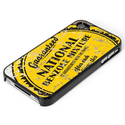 Retro Legends Guaranteed National Benzole Iphone cover