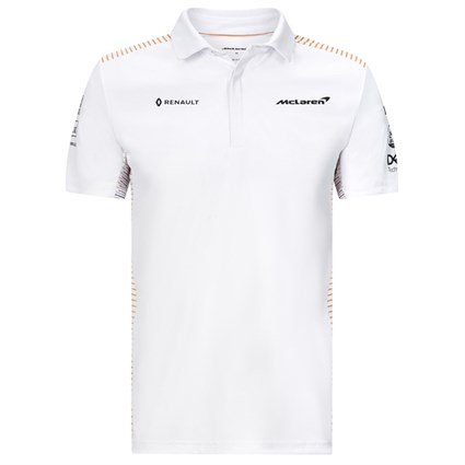 McLaren 2020 Team polo shirt in white