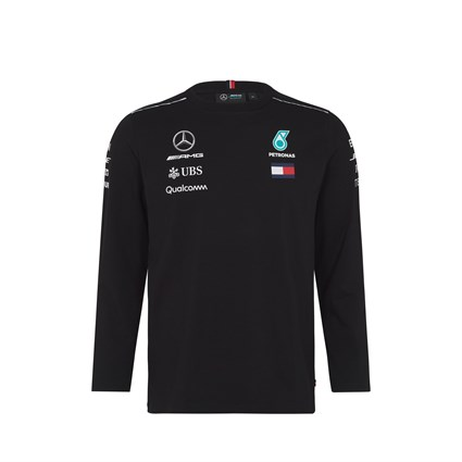 Mercedes AMG 2018 Team Long Sleeve T-Shirt Black