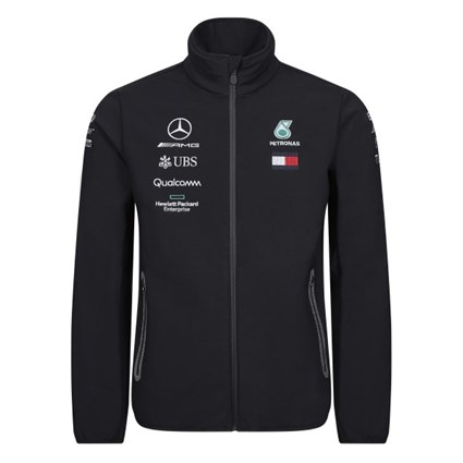 Mercedes-AMG Petronas Motorsport 2019 softshell jacket in black