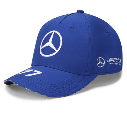 Mercedes-AMG Petronas Motorsport 2020 Valtteri Bottas cap in blue