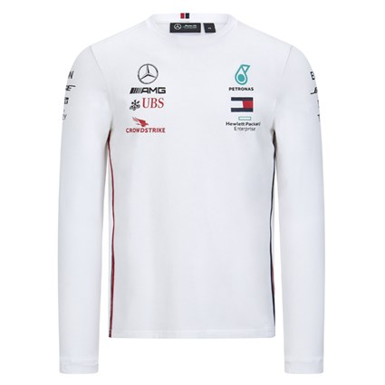 Mercedes-AMG Petronas Motorsport 2020 Team long sleeve top in white