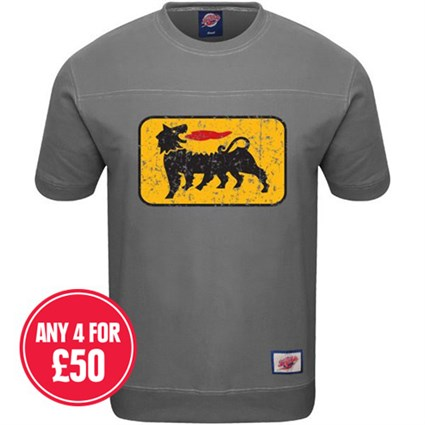 Retro Legends Dragon Oils T-sweat in grey