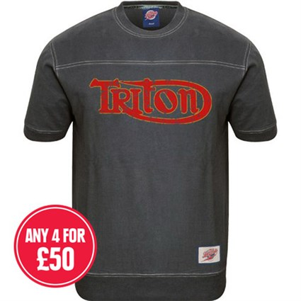 Retro Legends Triton T-sweat in blue