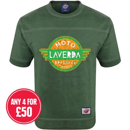 Retro Legends Classic Laverda T-sweat in green