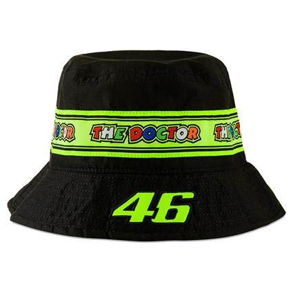 Valentino Rossi VR46 2020 Bucket hat in black