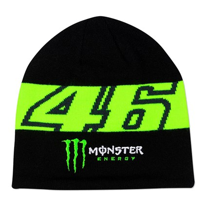 Valentino Rossi VR46 2020 Monster beanie in black and yellow