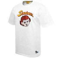 Senninha t-shirt - white