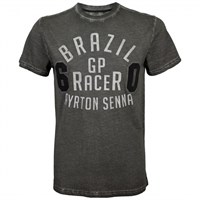 Senna GP Racer T-Shirt - Grey