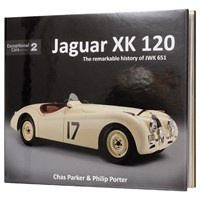 Jaguar XK120 The Remarkable History Of JWK 651