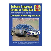 Subaru Impreza Group A Rally Car Owners Workshop Manual