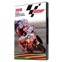 The Official 2018 Moto GP Review Blu-ray