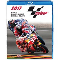 The Official 2017 Moto GP Review Blu-ray