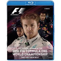 The Official 2016 Formula One Review Blu-ray