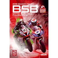 The Official 2018 British Superbike Review DVD