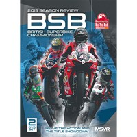 The Official 2019 British Superbike Review DVD