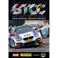The Official 2018 BTCC Review DVD