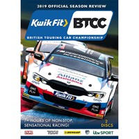 The Official 2019 BTCC Review DVD