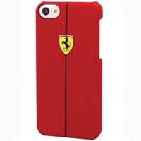 Ferrari F1 Rubber iPhone 5 case red
