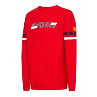 Ferrari Mens Crew Sweat - Red