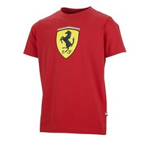 Ferrari Kids Scudetto T-Shirt Red
