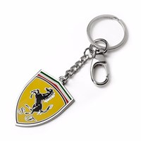 Ferrari Metal Shield Keyring