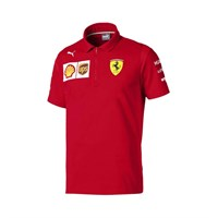 Scuderia Ferrari 2019 Team polo shirt in red