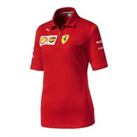 Scuderia Ferrari 2019 ladies Team polo shirt in red