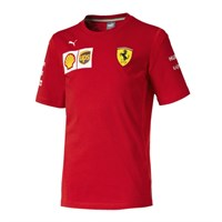Scuderia Ferrari 2019 Kids Team T-shirt in red
