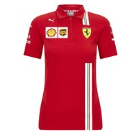Scuderia Ferrari 2020 Ladies Team polo shirt in red