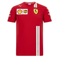 Scuderia Ferrari 2020 Kids T-shirt in red