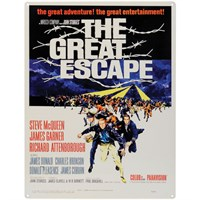 The Great Escape Metal Sign
