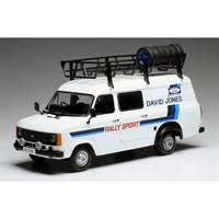 IXO Ford Transit Mk.II - David Sutton 1:18