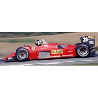 Look Smart Ferrari 156/85 - 1985 Canadian Grand Prix - #28 S. Johansson 1:18