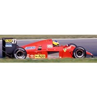 Look Smart Ferrari F1-86 - 1986 Austrian Grand Prix - #27 M. Alboreto 1:18